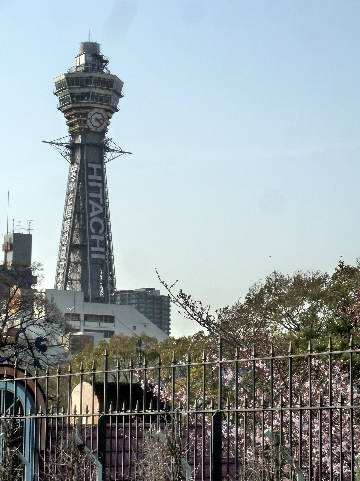 Osaka Tsutenkaku tower