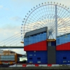 Osaka port ferries wheel