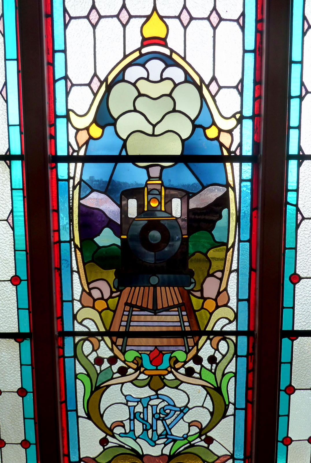 stained-glass-dundedin-railway-station