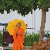 monk-and-umbrella-phnom-penh