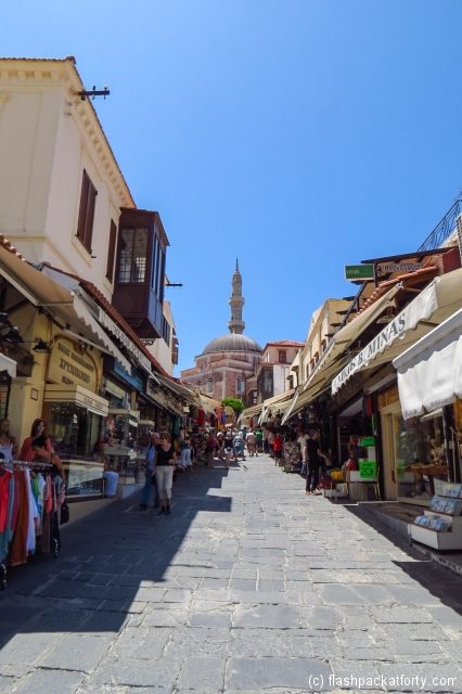 mosque-street-rhodes-old-town