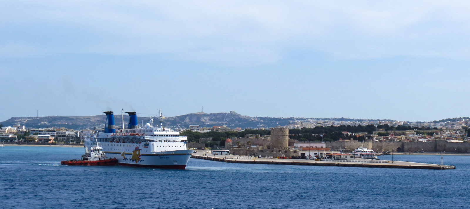 Rhodes ferry port