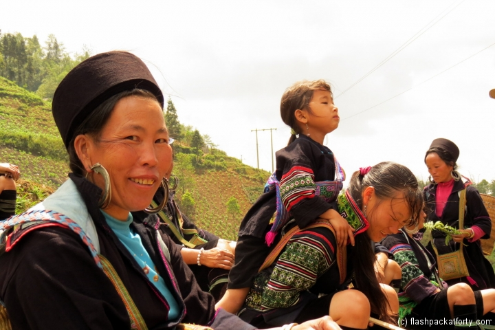 Red Hmong women