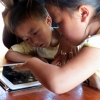 Children on iPad