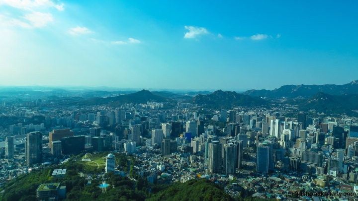 seoul-tower-city-view