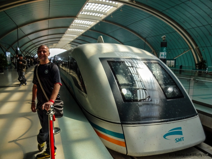 maglev train nose shanghai