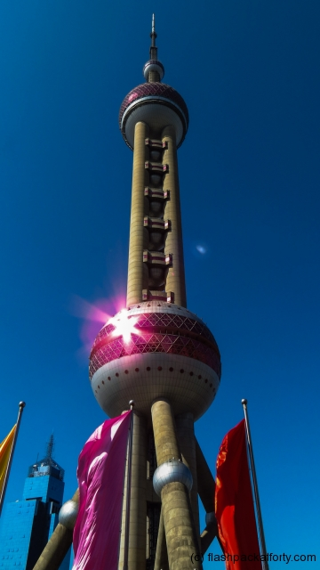 pearl-tv-tower-and-sunlight-reflection-shanghai