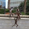 singapore-river-jumping-children-sculpture