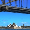 Opera House under Sydney Harbour Bridge