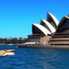 Power Boat Sydney Opera House