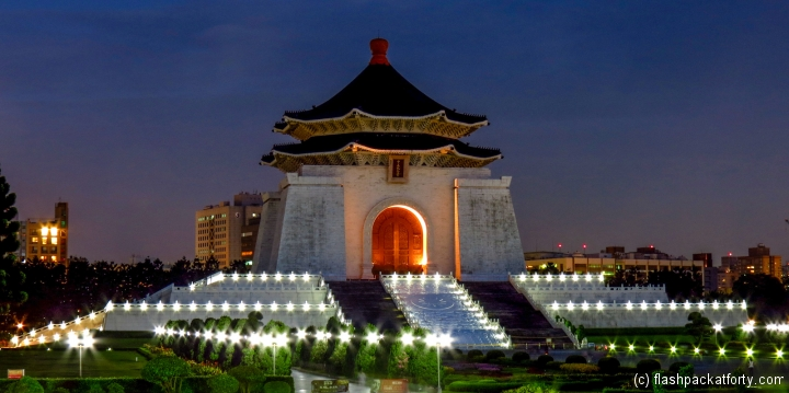 chiang-kai-shek-night-time-view