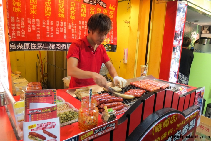 double-sausage-preparation-taipei
