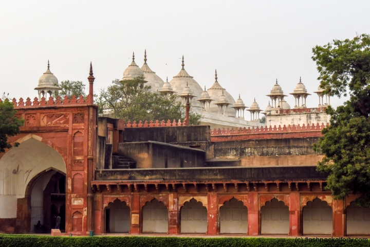 agra-fort-domes-and-arches-india