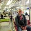 Craig rides the Tokyo Monorail