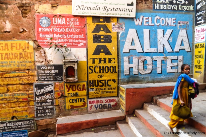 painted-adverts-on-walls-varanasi