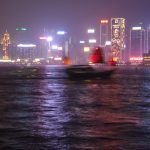 Sanpan Hong Kong Harbour