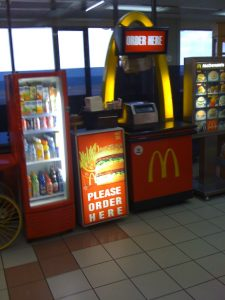 Small Mc Donalds outlet