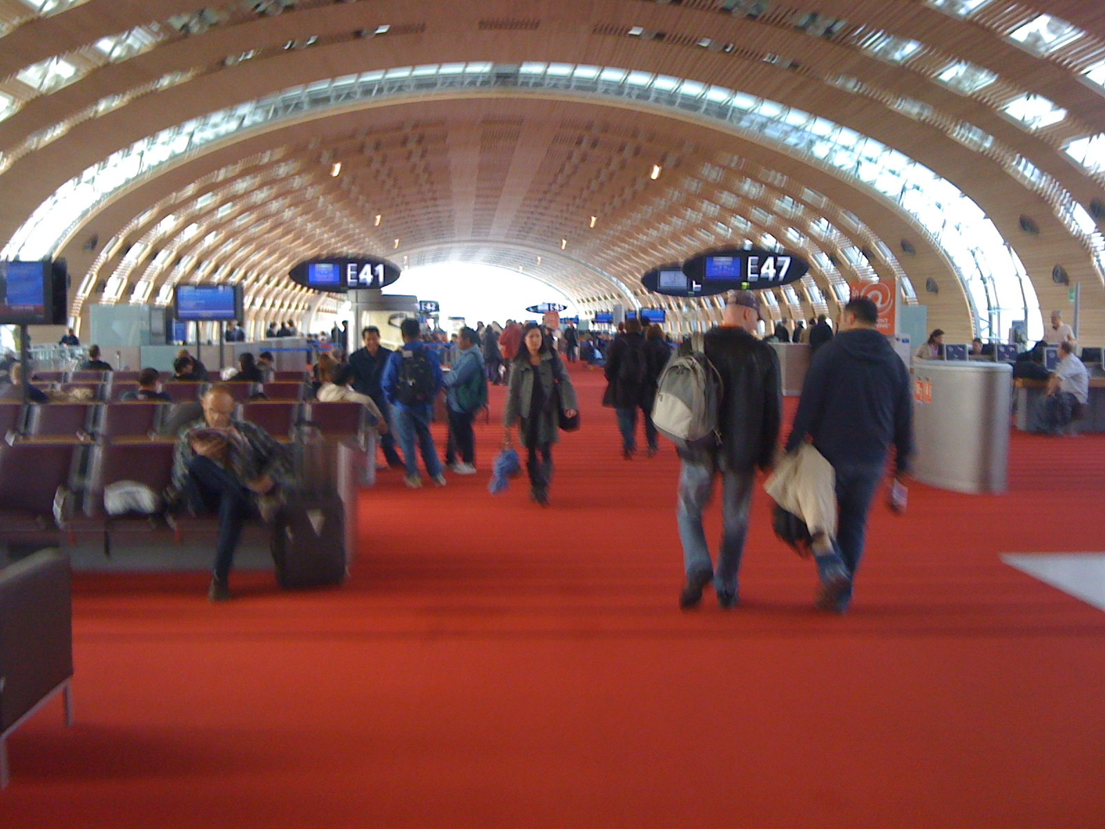 Paris airport