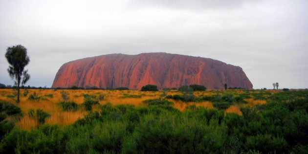 Alice and Uluru