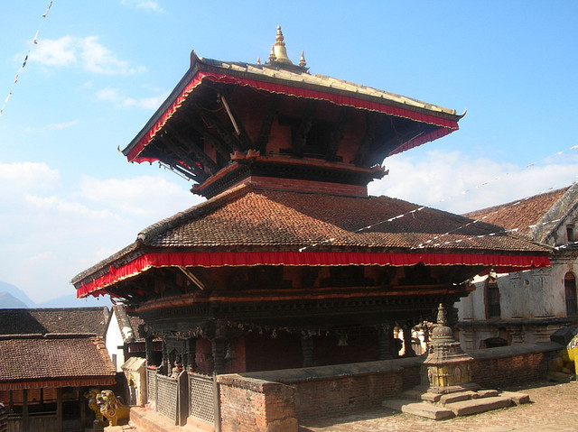 Pagoda Styled Temple in Kathmandu