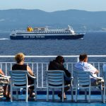 A Ferry Trip from Rhodes to Santorini