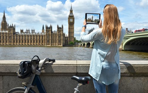 Different ways to tour London